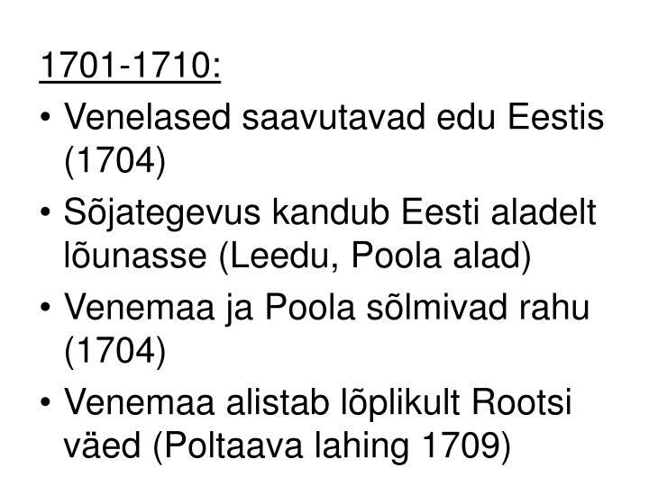 1701-1710: