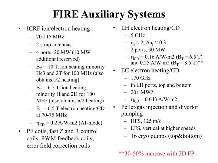ICRF ion/electron heating