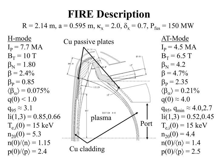 Fire description