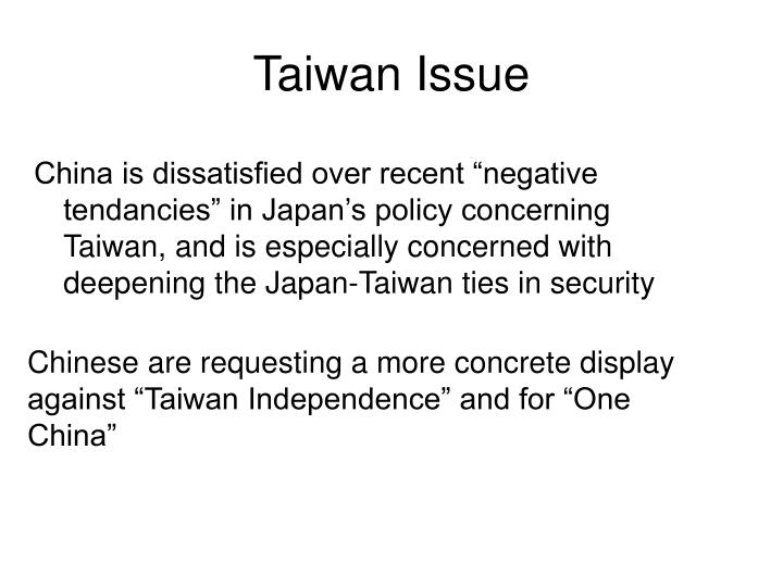 Taiwan Issue