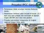 proyeksi ipcc lanjutan