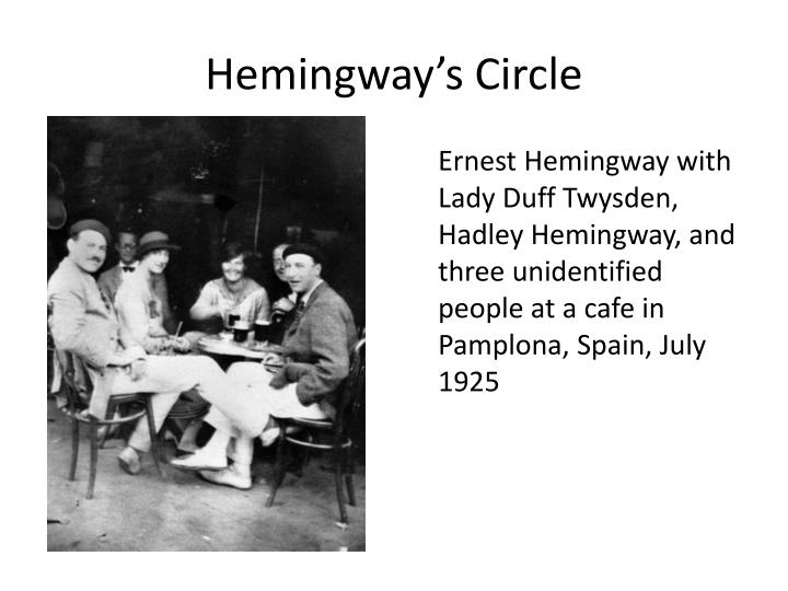 pamplona in july by ernest hemingway essay Ernest miller hemingway is a well-known american author who wrote in the  he has written several novels such as, a farewell to arms, for whom  the bell tolls, and the old man and the sea.