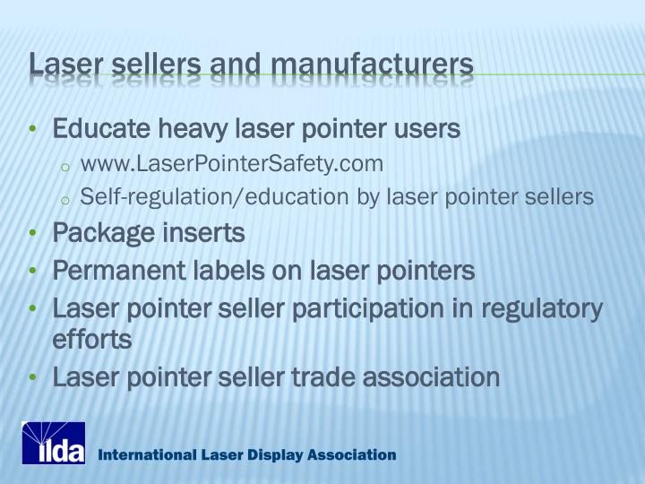 Laser sellers and manufacturers
