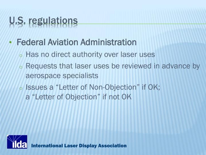 U.S. regulations