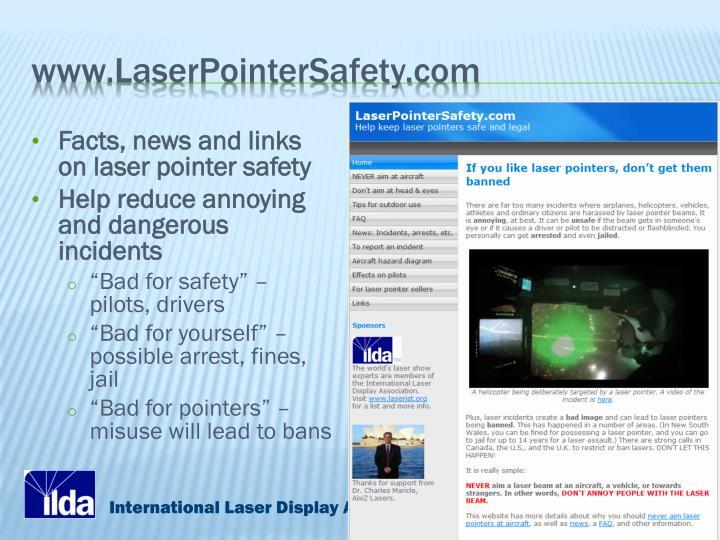www.LaserPointerSafety.com