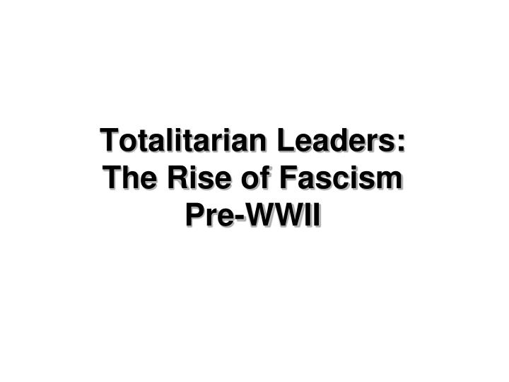 what led to the rise of fascism in japan essay Rise of fascism in europe europe after ww1 the european societies and governments over the course of world war i from 1914 until 1918, world war i, with its center in europe, was fought.