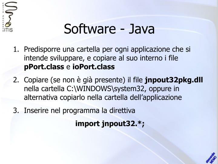 Software - Java