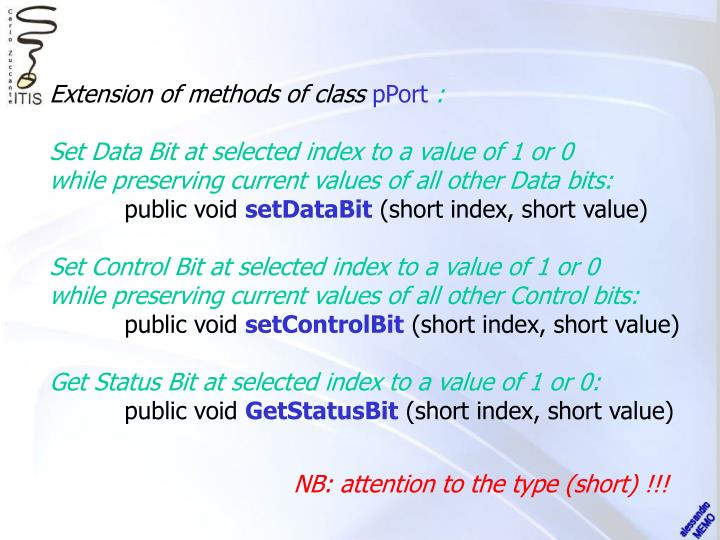 Extension of methods of class