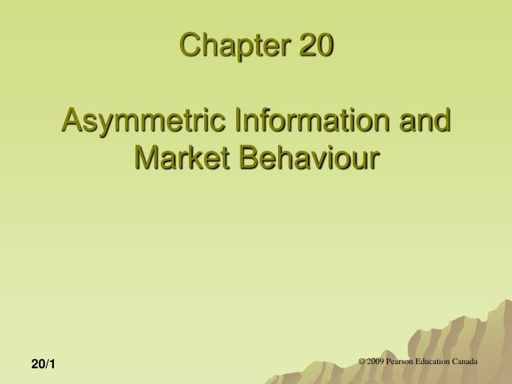 asymmetric information economics Asymmetric information in insurance markets: predictions and tests pierre-andr e chiapporiy bernard salani ez february 21, 2013 abstract the paper surveys a number of recent empirical studies that test.