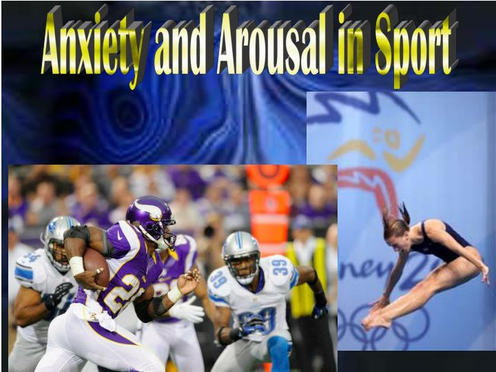 anxiety in sport
