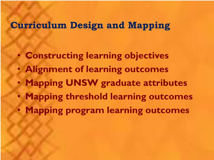 Ppt teaching in unsw powerpoint presentation id5091699 curriculum design and mapping toneelgroepblik Choice Image