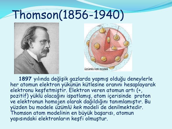 Thomson(1856-1940)