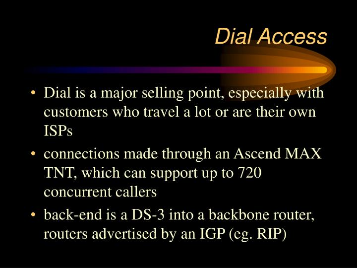 Dial Access