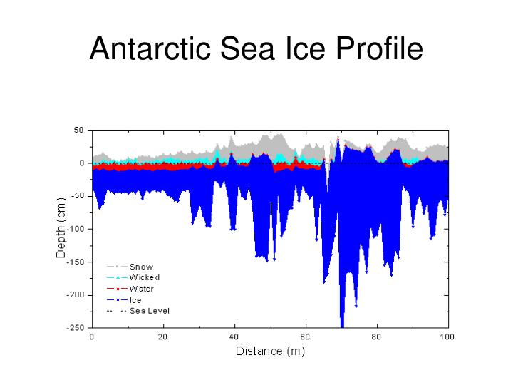 Antarctic Sea Ice Profile
