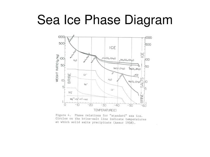 Sea Ice Phase Diagram