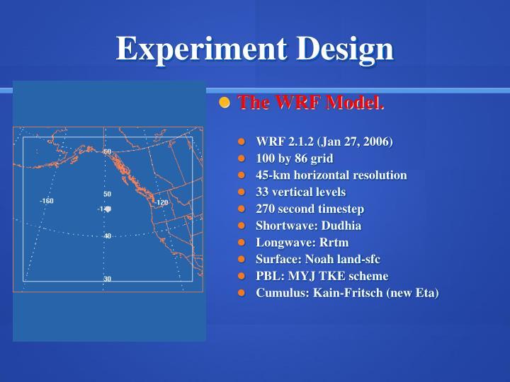 The WRF Model.