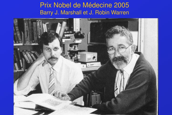 Prix Nobel de Médecine 2005