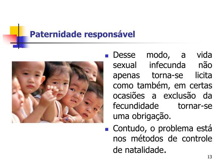 Paternidade responsável