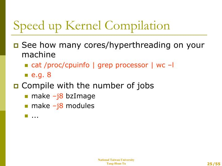 See how many cores/hyperthreading on your machine
