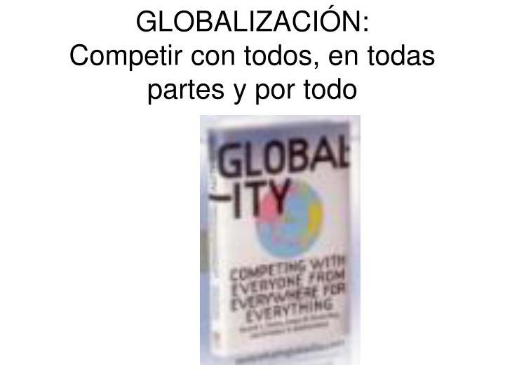 GLOBALIZACIÓN: