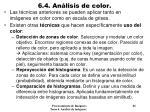 6 4 an lisis de color