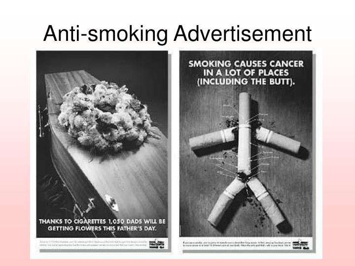 Anti-smoking Advertisement