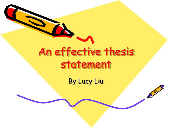 effective thesis statements do what Video: writing an effective thesis statement search this guide search infopower the research skills tutorial home  avoiding poor thesis statements (a.