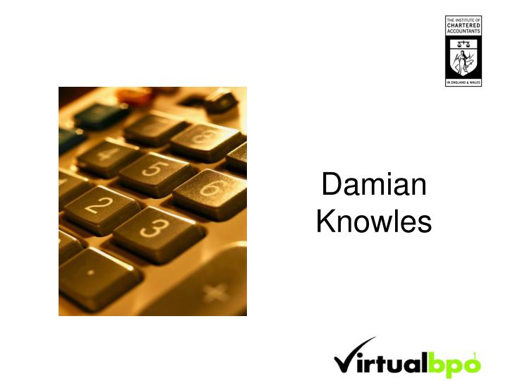 Damian knowles