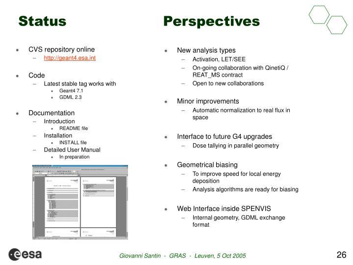 CVS repository online