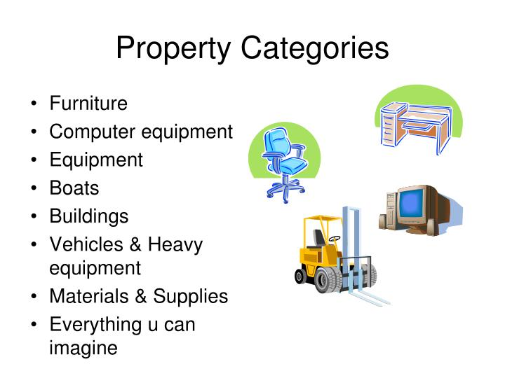 Property categories