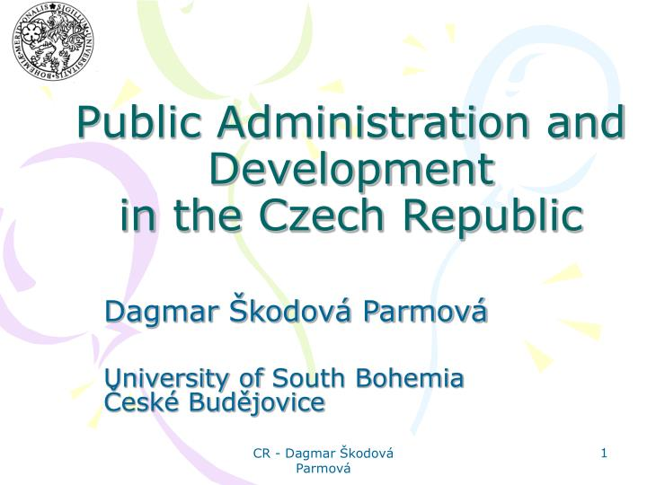 Public administration and development in the czech republic