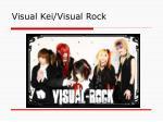 visual kei visual rock