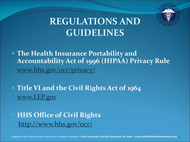 the importance of patient privacy and following the hipaa privacy rules and regulations as a nurse For instance, if state regulations governing the privacy of health information are more stringent than hipaa standards, state law stands the same is true if a state's law prevents fraud and abuse, ensures regulation of insurance, or serves a compelling public health need.