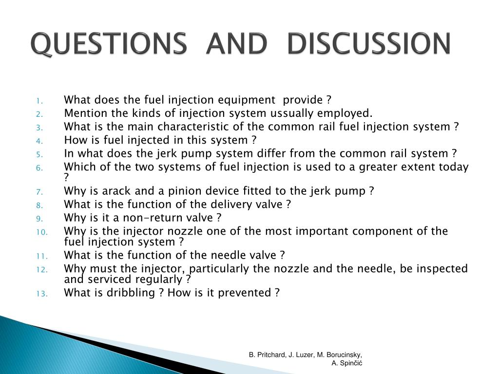 PPT - FUEL OIL SYSTEM FUEL INJECTION EQUIPMENT PowerPoint
