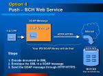 option 4 push bch web service1