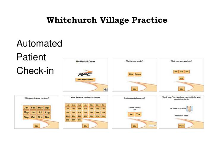 Whitchurch Village Practice