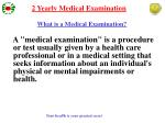 what is a medical examination