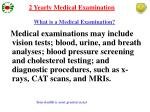 what is a medical examination1