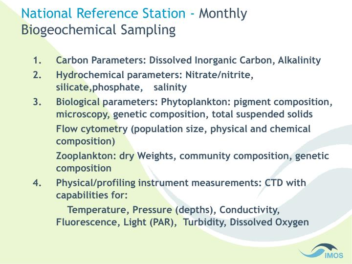 National Reference Station -