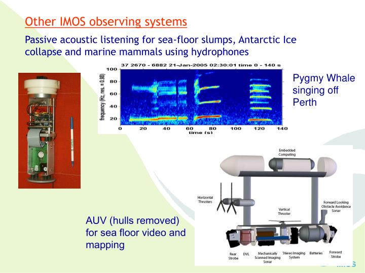 Other IMOS observing systems