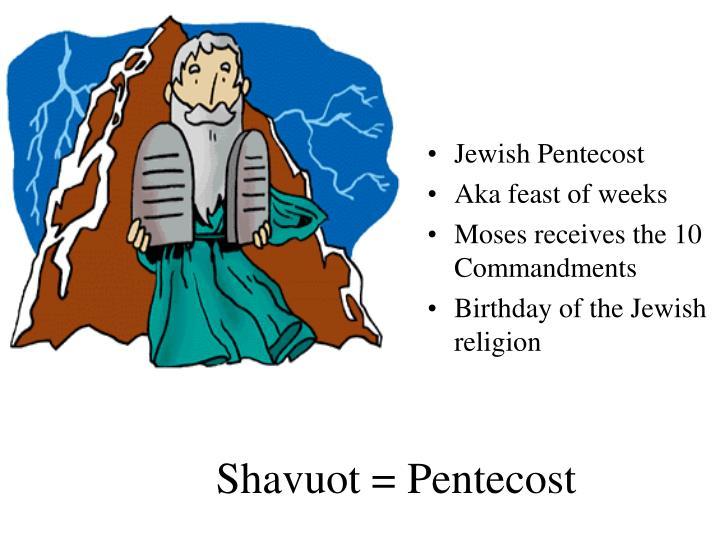 Jewish Pentecost