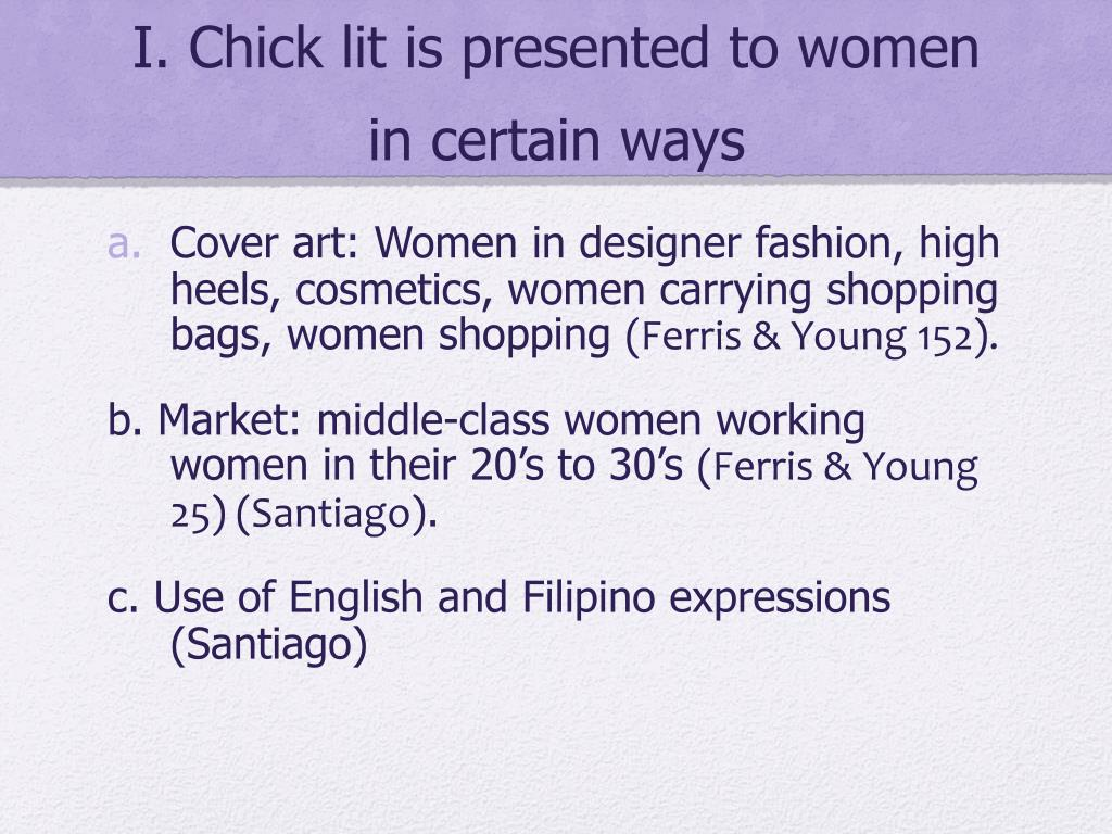 PPT - Chick Lit PowerPoint Presentation - ID:5097133
