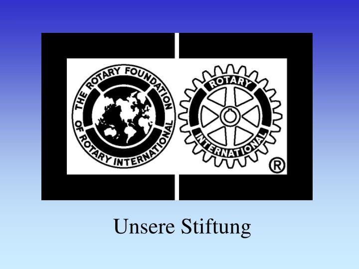 unsere stiftung n.