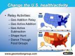 change the u s health activity