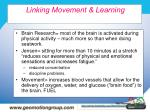 linking movement learning