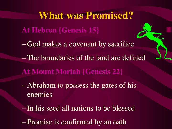 What was Promised?