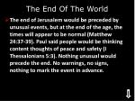 the end of the world1