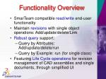 functionality overview