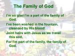the family of god1