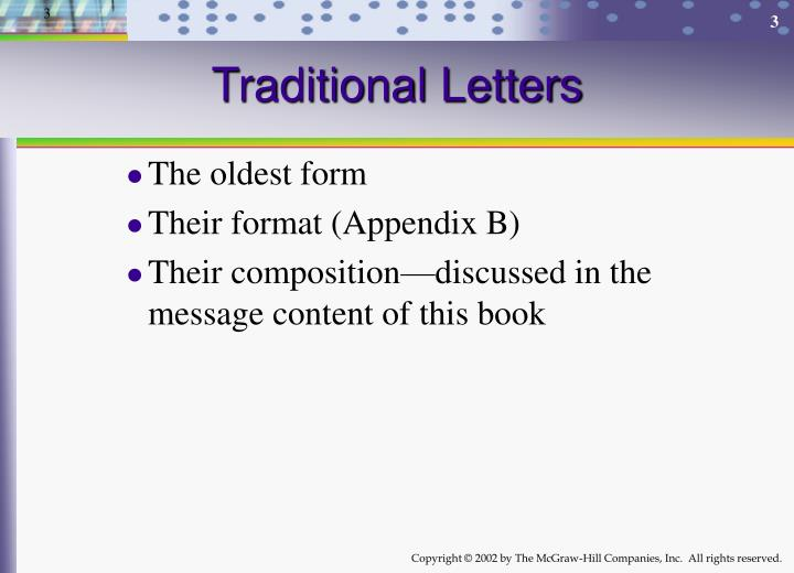 Ppt introduction to messages and the writing process powerpoint traditional letters altavistaventures Image collections